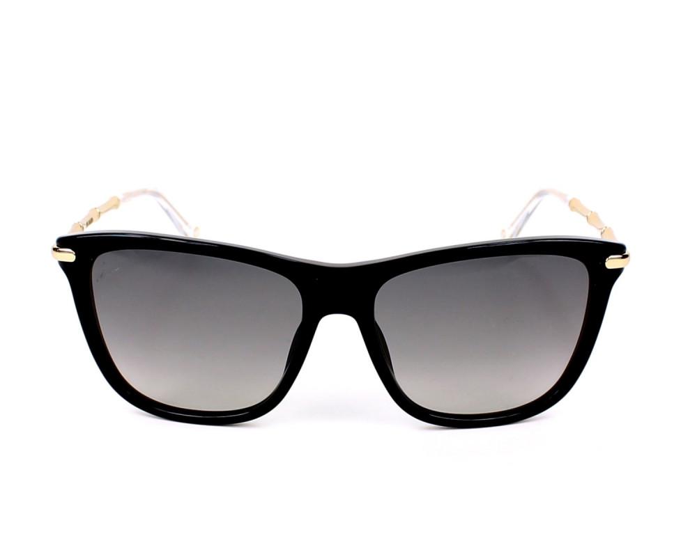 سعر نظارة قوتشي نسائي شمسية - شكل واي فيرر - لون اسود - زكي للبصريات