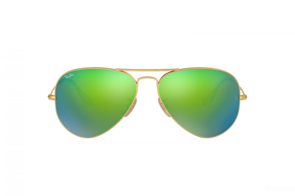 افضل نظارة ريبان شمسية للرجال - ذهبية - افياتور - زكي للبصريات