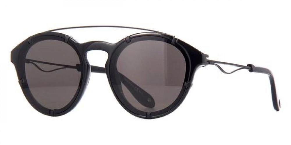 نظارة جيفنشي شمسية رجاليه - شكل دائري - لون أسود - زكي للبصريات