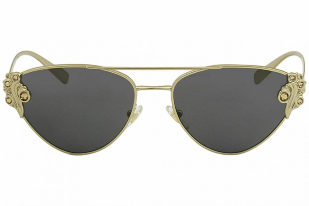 شراء نظارات شمسية نسائية فرزاتشي - كات آي - لون ذهبي - زكي للبصريات
