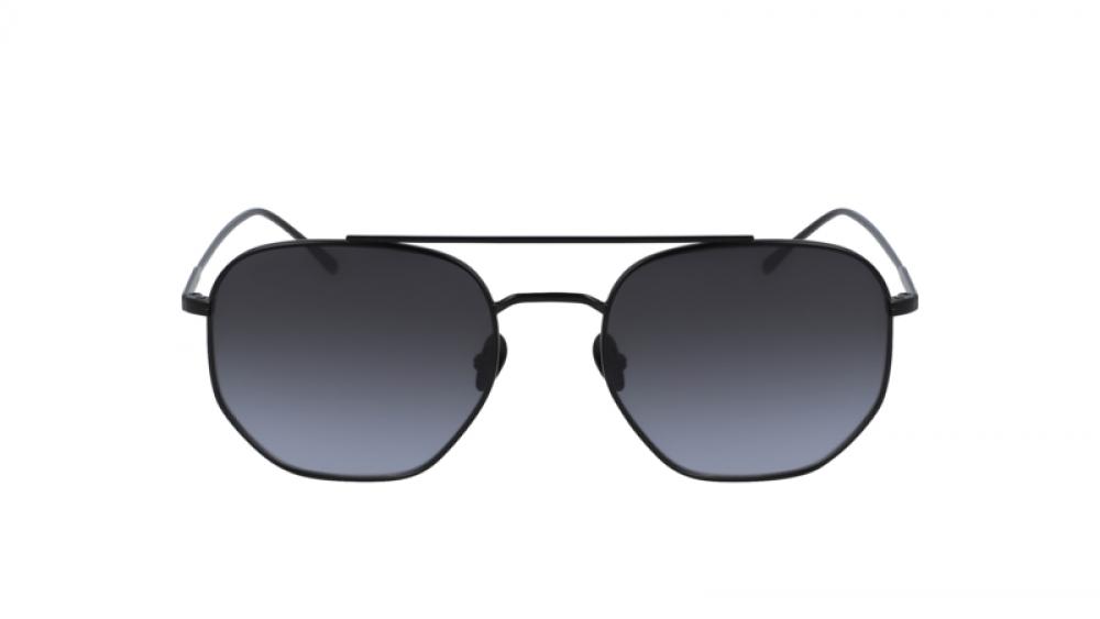افضل نظارة لاكوست شمسية للجنسين - شكل سداسي - لون اسود - زكي للبصريات