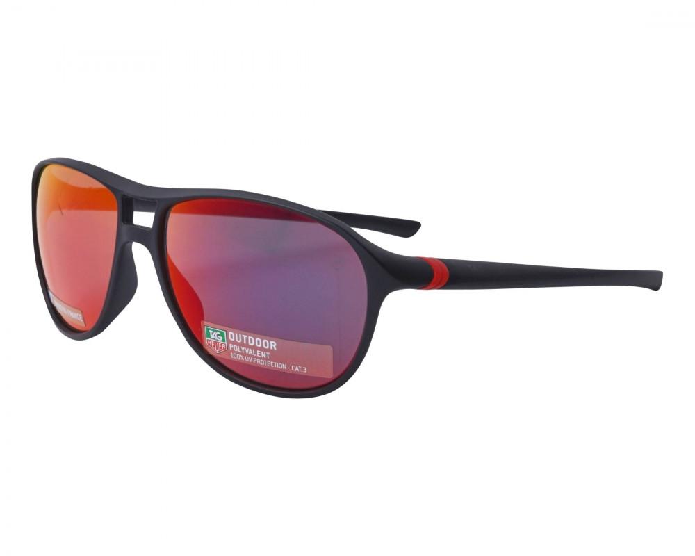 نظارات تاق هيور شمسية للرجال - اسود - زكي للبصريات