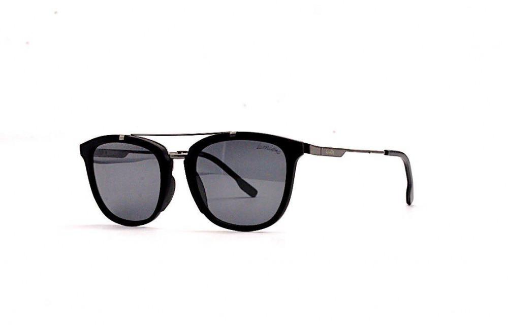 نظارة لومير شمسية للرجال - شكلها واي فيرر - لون أسود - زكي