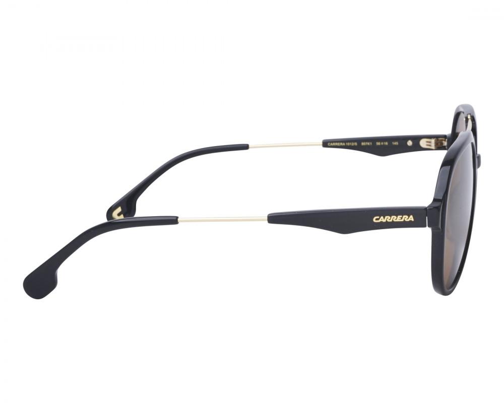 سعر نظارات ماركة carrera شمسية للرجال - افياتور - اسود - زكي