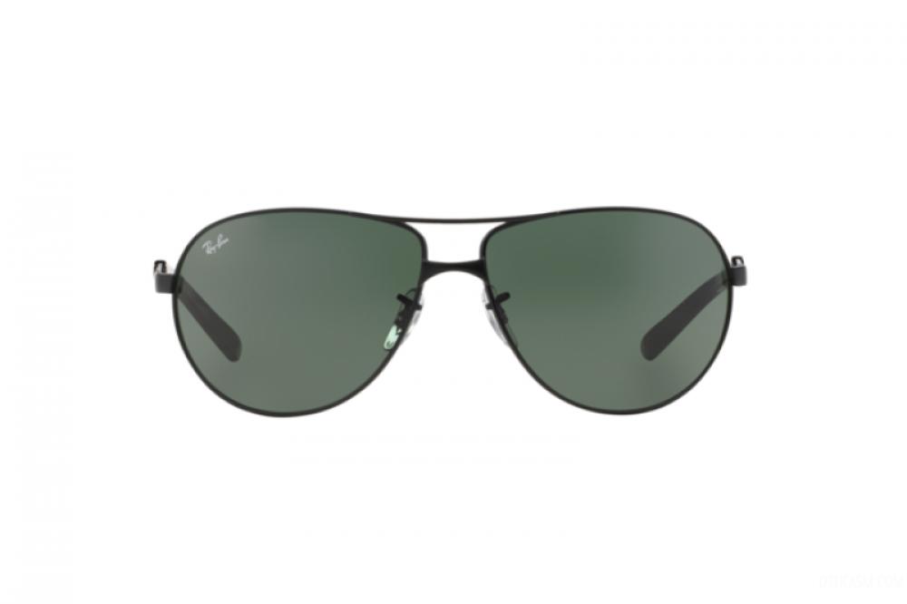 افضل نظارة ريبان شمسية للرجال - أسود - افياتور - زكي للبصريات