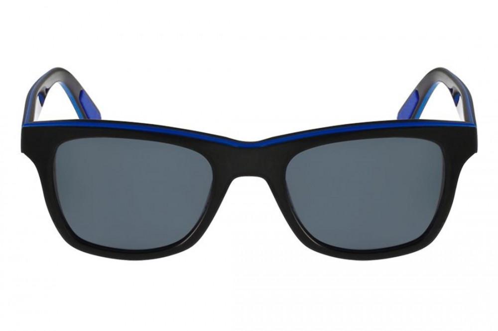 افضل نظارة لاكوست شمسية للرجال - شكل مستطيل - لون أسود - زكي للبصريات