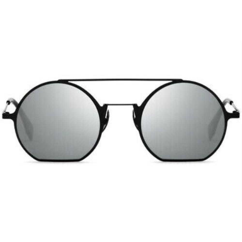 شراء نظارة فندي نسائي شمسية - غير منتظمة الشكل - لون أسود - زكي