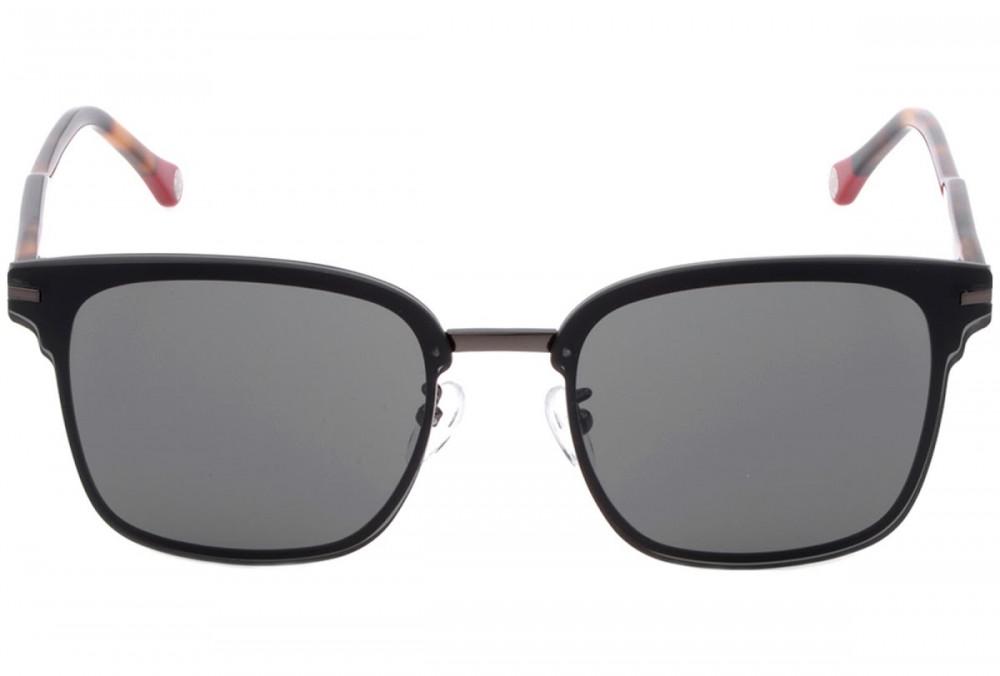 كارولينا هيريرا نظاره شمسية للجنسين - شكل واي فيرر - لون أسود - زكي