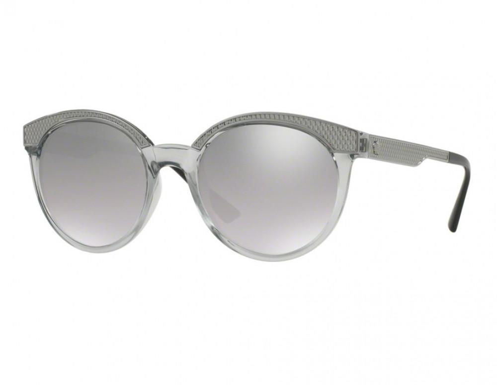 نظارات شمسية نسائية فرزاتشي - شكل دائري - لون فضي - زكي للبصريات