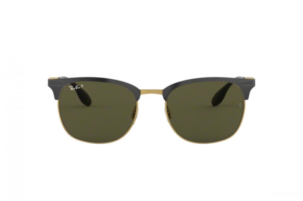 افضل نظارة ريبان شمسية للرجال - واي فيير - اسود - زكي للبصريات
