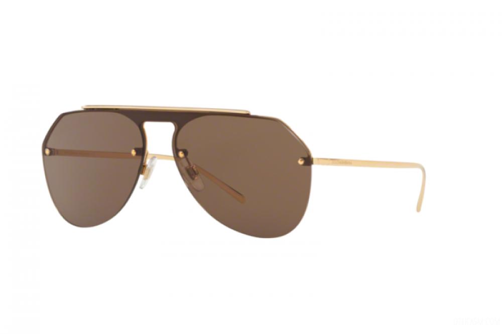 نظارة دولسي اند جابانا شمسية للرجال - افياتور - باللون ذهبي - زكي