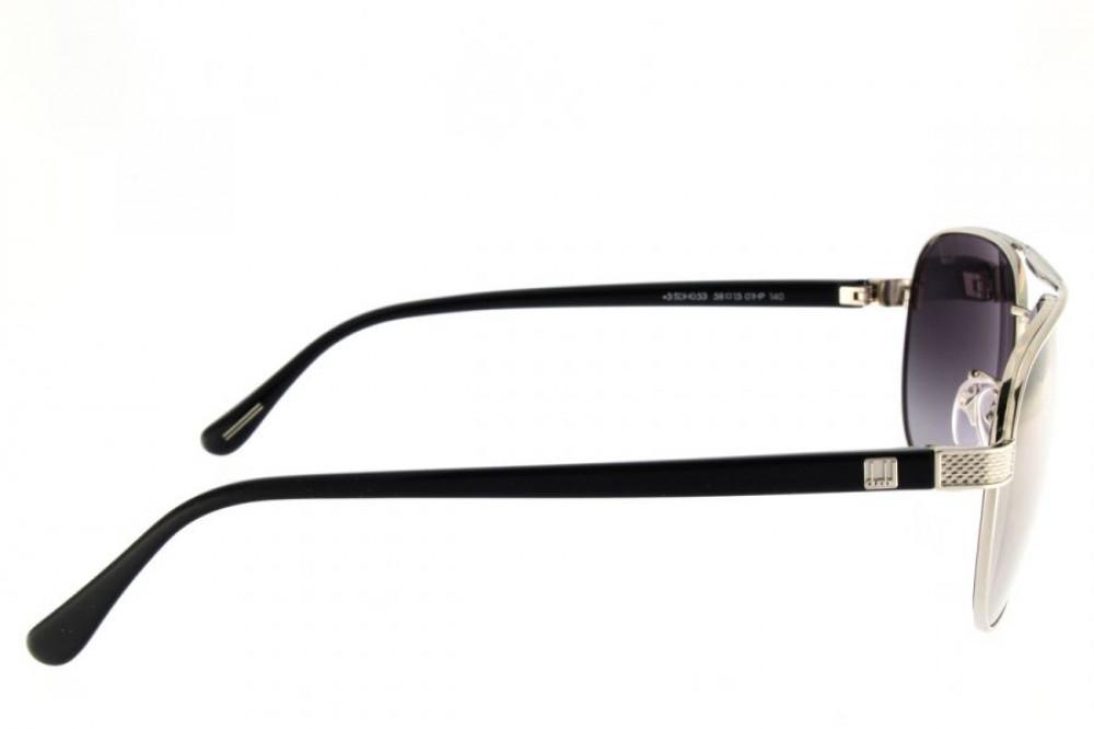 سعر نظارات دنهل شمسية رجاليه - افياتور - لون أسود - زكي للبصريات