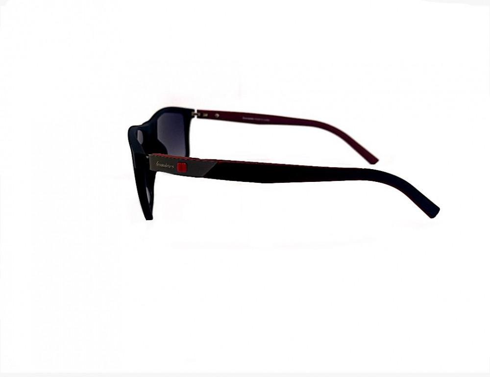 سعر نظارة لومير شمسية للرجال - شكل مستطيل - لون اسود - نظارات زكي