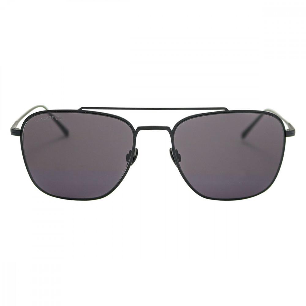 افضل نظارة لاكوست شمسية للرجال - شكل أفياتور - لون أسود - زكي للبصريات