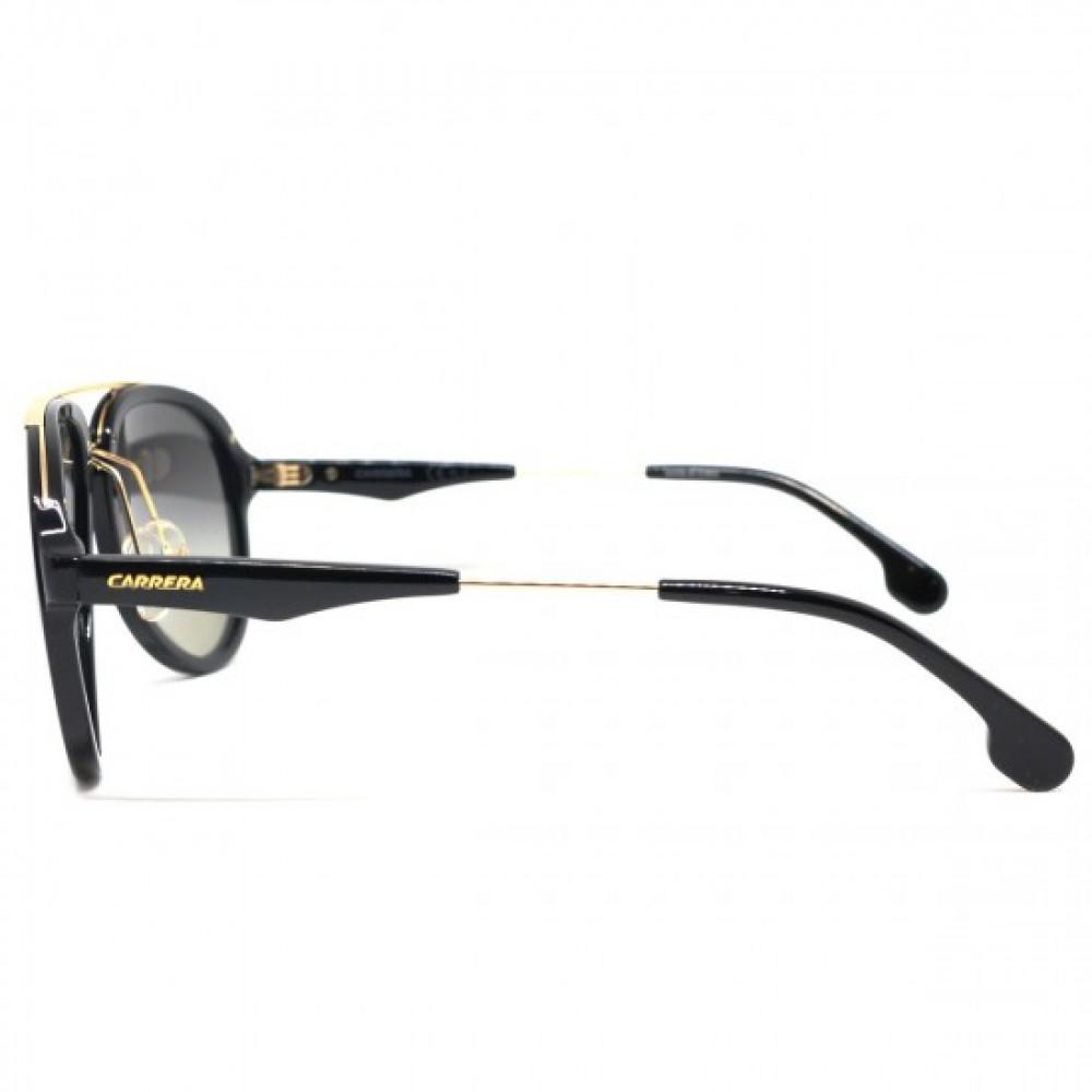 سعر نظارة كاريرا شمس رجالي - شكل افياتور - لون أسود - زكي للبصريات