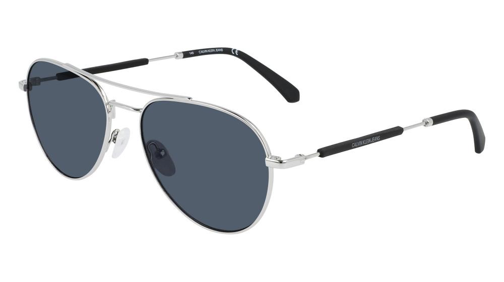 نظارات كالفن كلاين الشمسية للجنسين - افياتور - لون فضي - زكي للبصريات
