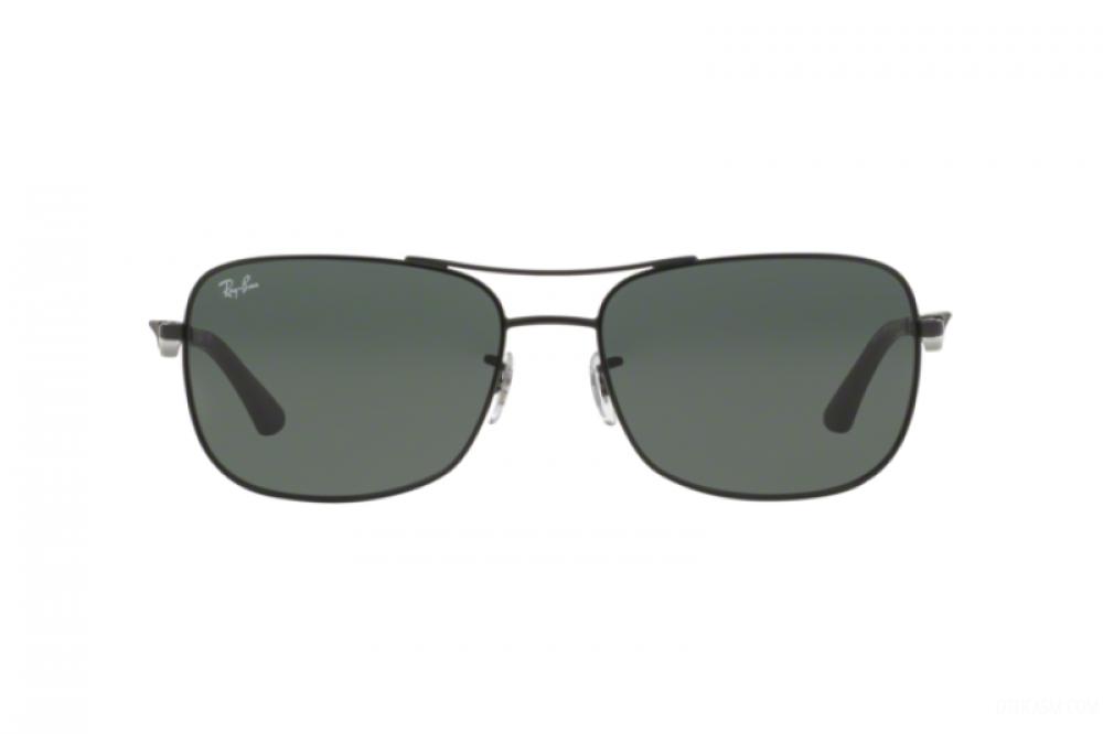 سعر نظارة ريبان شمسية للرجال - شكل مستطيل - لون أسود - زكي للبصريات