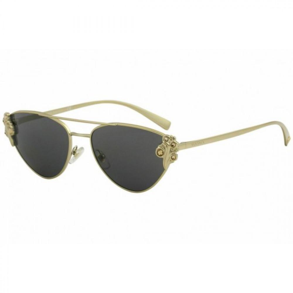 نظارات شمسية نسائية فرزاتشي - كات آي - لون ذهبي - زكي للبصريات