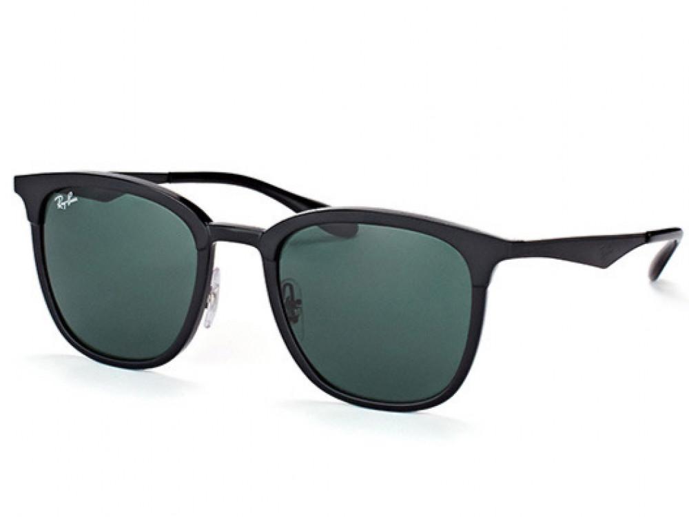 نظارة ريبان شمسية للرجال -  أسود - زكي للبصريات