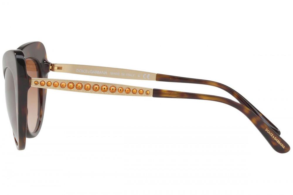 اجمل نظارة دولسي اند جابانا شمسية للنساء - شكل كات أي - لون تايقر - زك