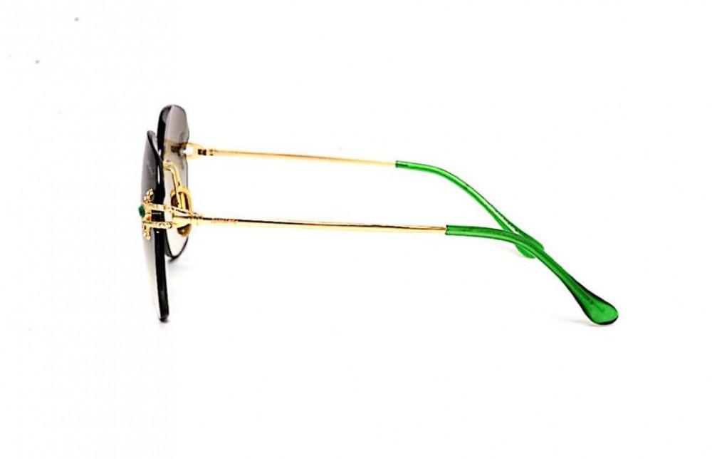 شراء نظارة لومير شمسية للنساء - شكل مربع - لون أخضر - زكي