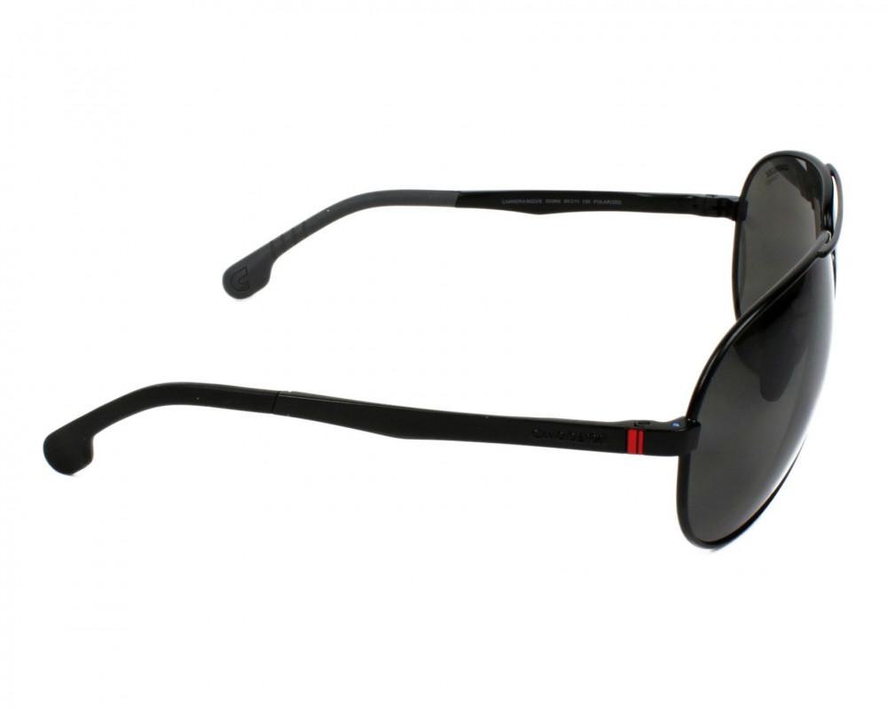 احسن نظارة كاريرا شمسية رجاليه - شكل أفياتور - لون أسود - زكي للبصريات