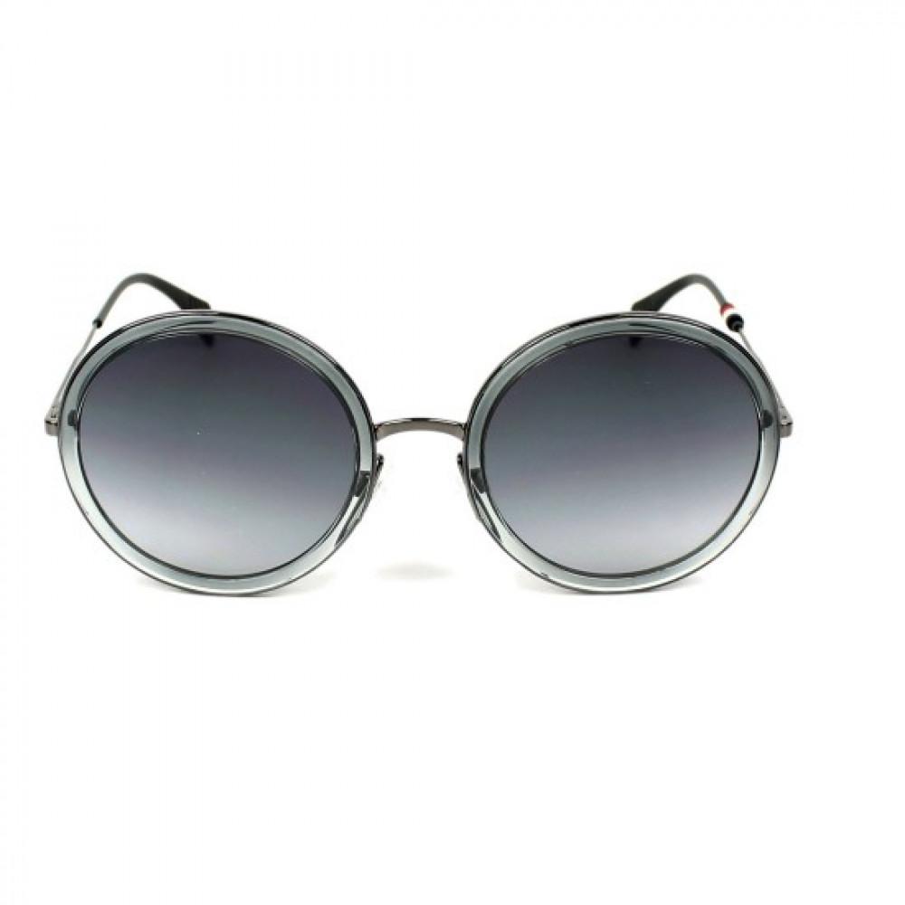 سعر نظارات تومي هيلفيغر الشمسيه للنساء - شكل دائري - لون رمادي - زكي