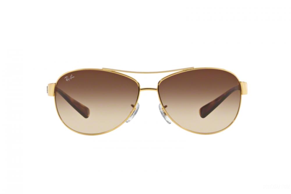 افضل نظارة ريبان شمسية للرجال - افياتور - ذهبية - زكي للبصريات