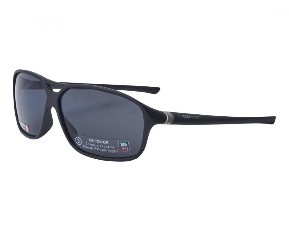 نظارات تاق هيور شمسية للرجال - لون أسود - زكي للبصريات