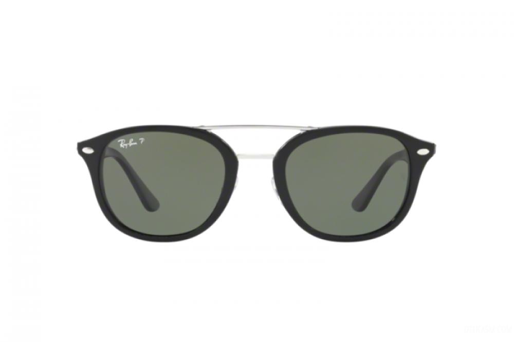 افضل نظارة ريبان شمسيه للرجال - شكل واي فير - باللون الأسود - زكي