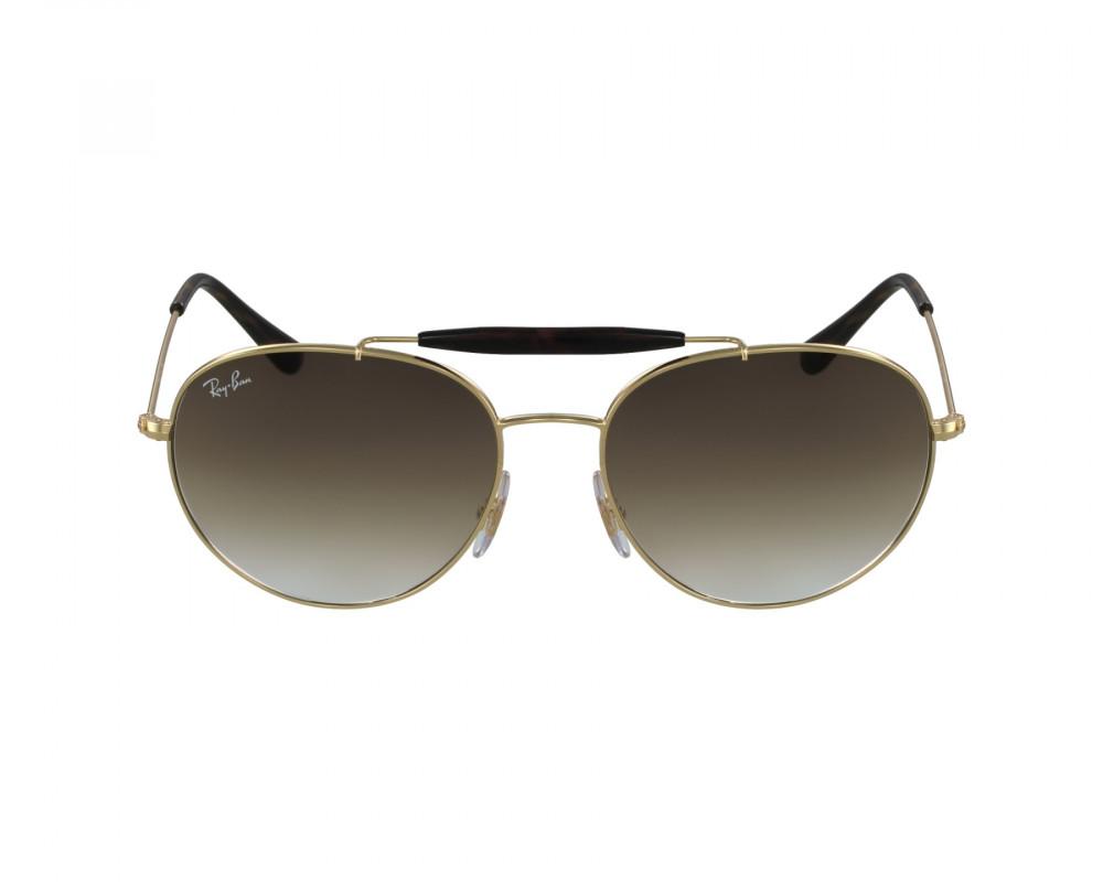 سعر نظارة ريبان شمسية للرجال والنساء - ذهبية اللون - دائرية الشكل - زك