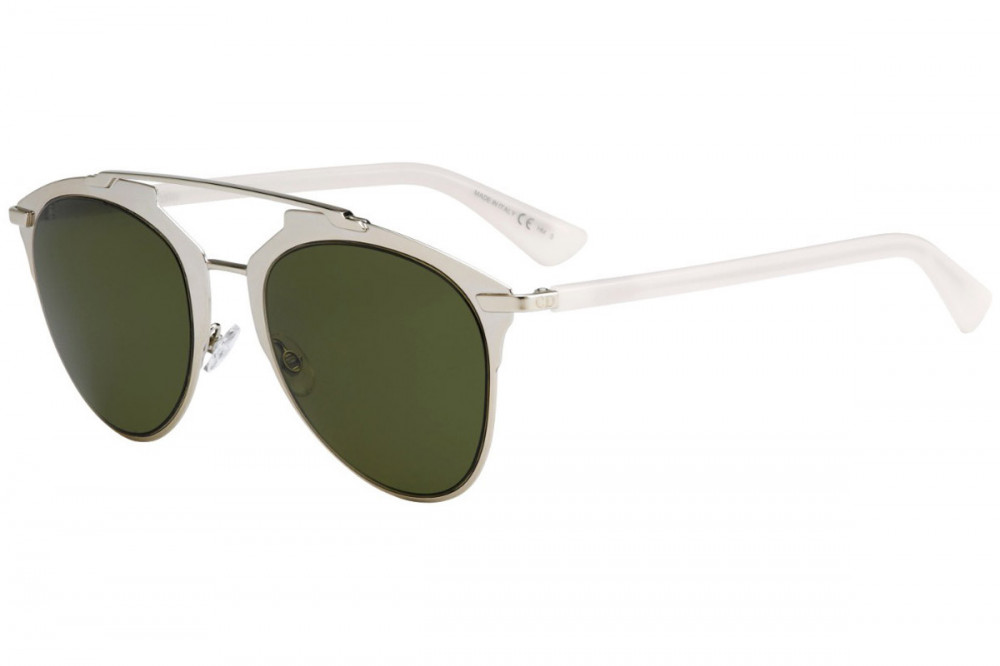 نظارة ديور هوم للجنسين - شكل كات أي - لون ذهبي - زكي للبصريات