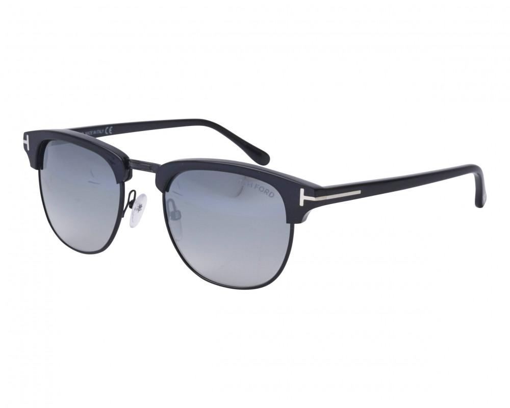 نظارة توم فورد شمسية للرجال - لون أسود - زكي للبصريات