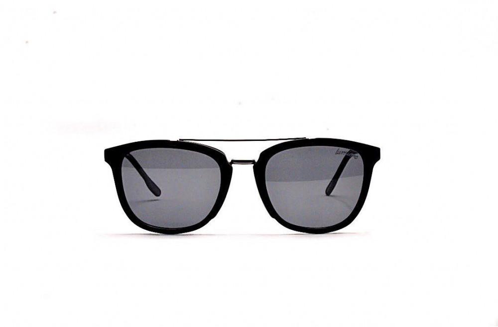 سعر نظارة لومير شمسية للرجال - شكلها واي فيرر - لون أسود - زكي