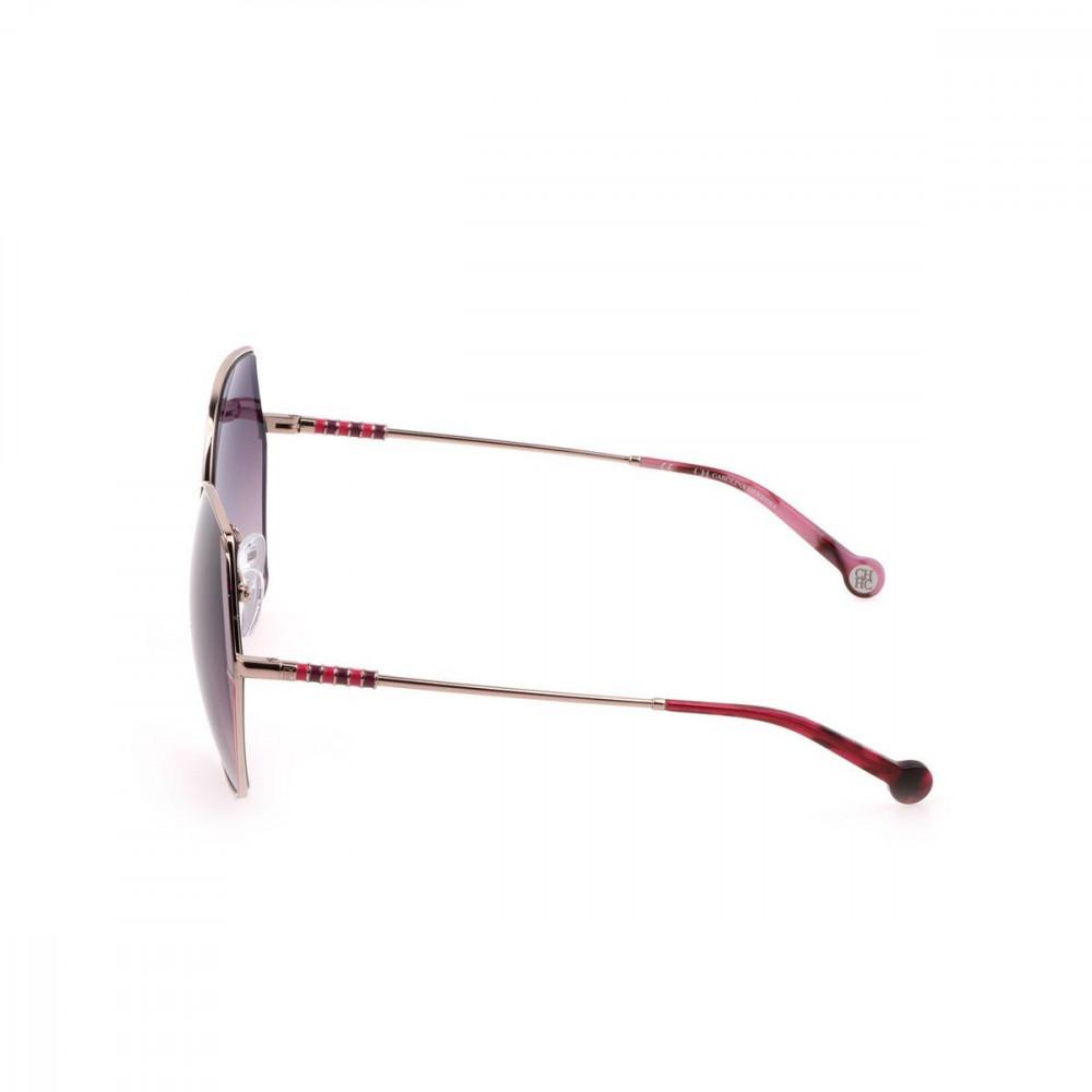 شراء نظارات كارولينا شمسية للنساء - غير منتظمة الشكل - لون ذهبي - زكي