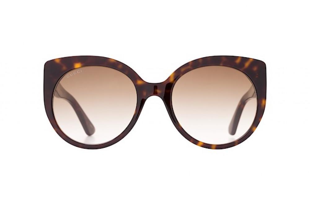 شراء نظارة قوتشي نسائي شمسيه - شكل كات أي - لون تايقر - زكي