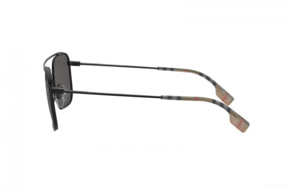 اسعار نظارة بربري شمسية للرجال - شكل مستطيل - لون أسود - زكي للبصريات