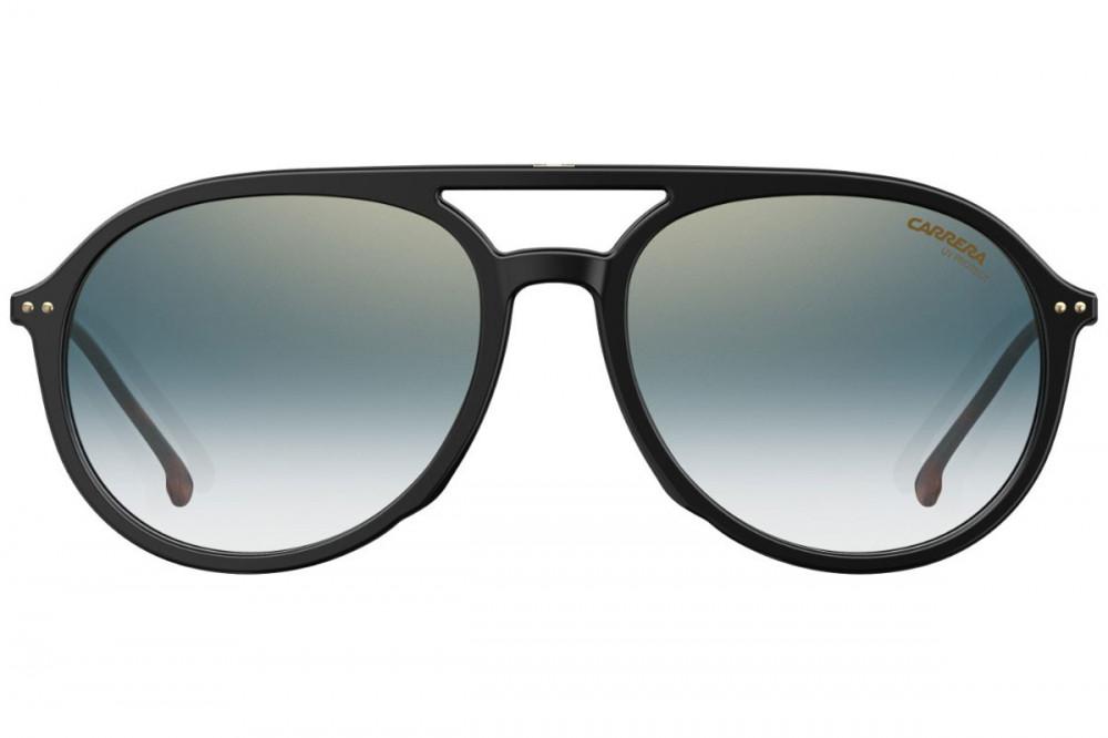 افضل نظارة كاريرا شمسية للرجال - أفياتور - لونها أسود - زكي للبصريات