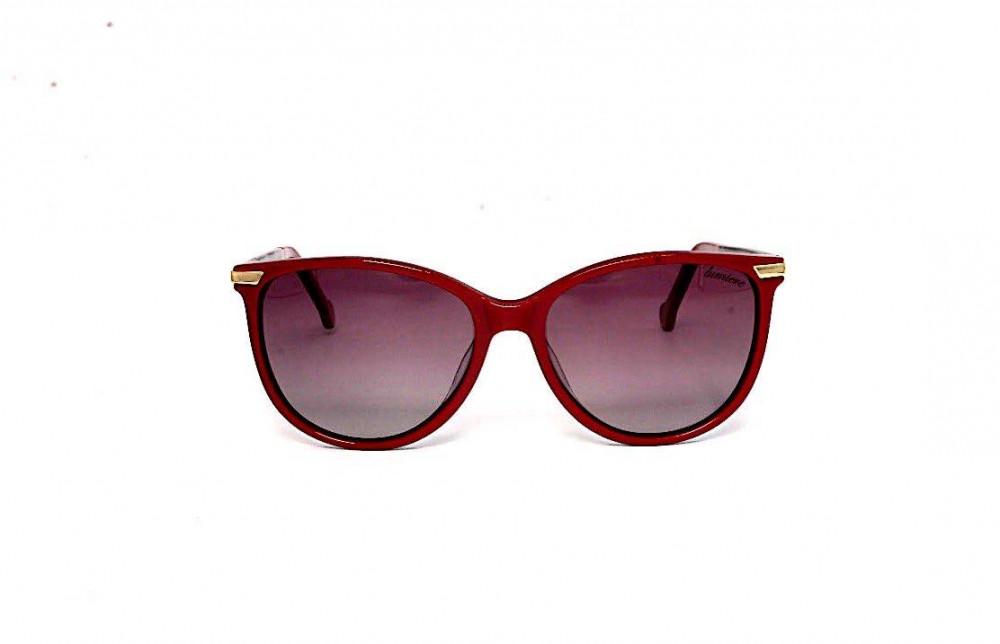 سعر نظارة لومير شمسية للنساء - شكل كات أي - لون أحمر - زكي