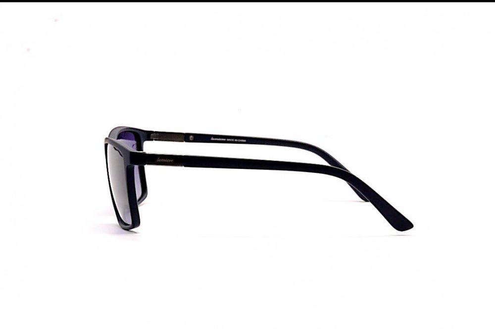 شراء نظارة لومير شمسية لكلا الجنسين - شكل مستطيل - لون كحلي - زكي