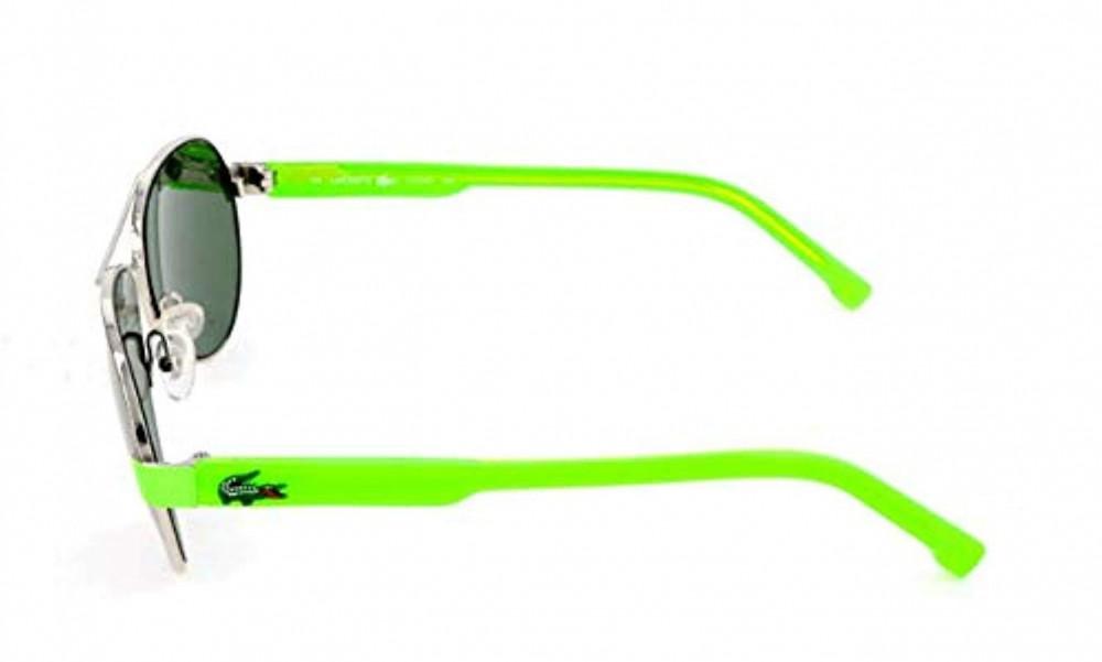 سعر نظارة لاكوست شمسية للجنسين - شكل افياتور - باللون فضي - زكي للبصري
