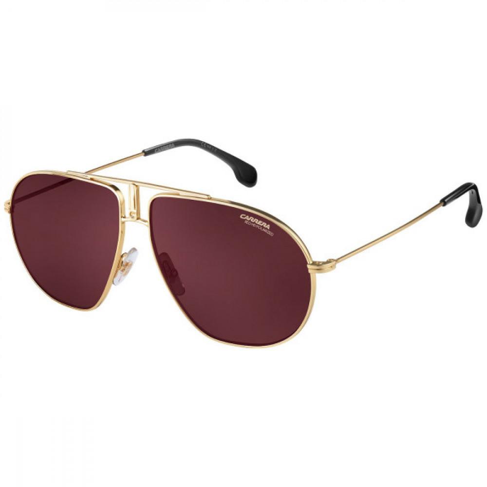نظارة كاريرا شمسية للجنسين - شكل افياتور - لون ذهبي - زكي للبصريات