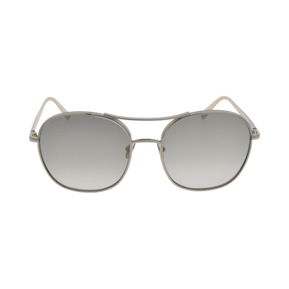 افضل نظارة كلوي شمسية للنساء - شكل دائري - لونها نحاسي - زكي