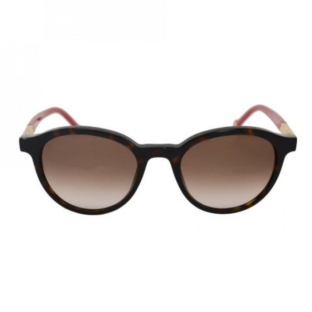 افضل نظارات كارولينا شمسية للنساء - شكل دائري - لون تايقر - زكي