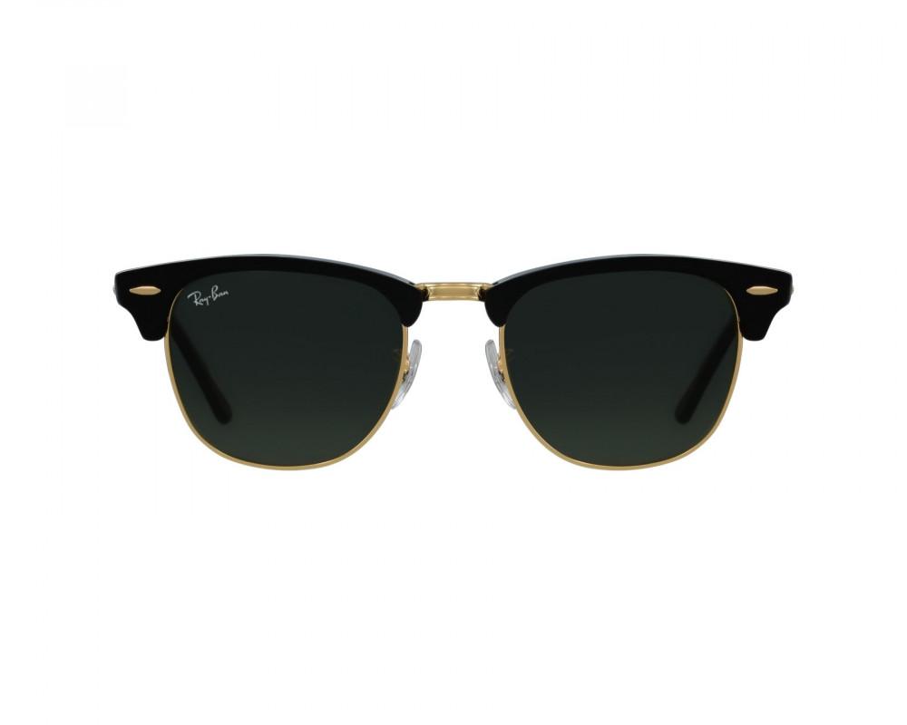 افضل نظارة ريبان شمسية للرجال - شكل واي فيرر - لون اسود - زكي للبصريات