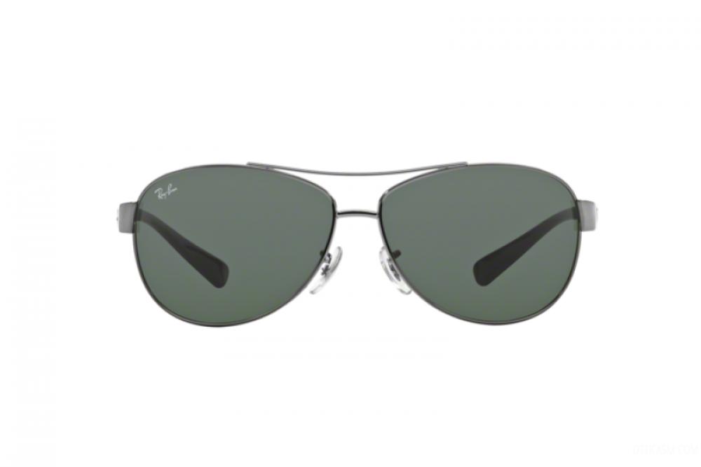 افضل نظارة ريبان شمسية للرجال -  أفياتور - فضي - زكي للبصريات