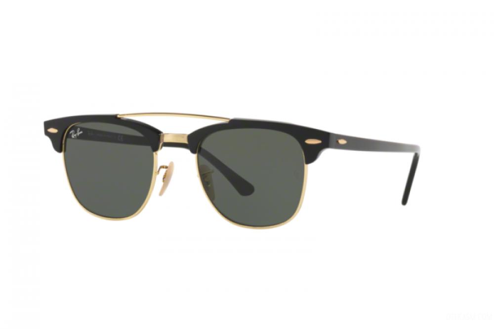نظارة ريبان شمسية للرجال - واي فيير لون أسود - زكي للبصريات