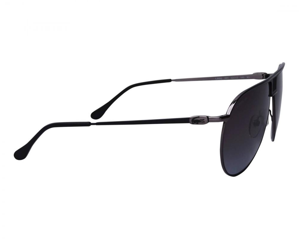 شراء نظارات شمسية رجالية لاكوست - افياتور - اسود - زكي