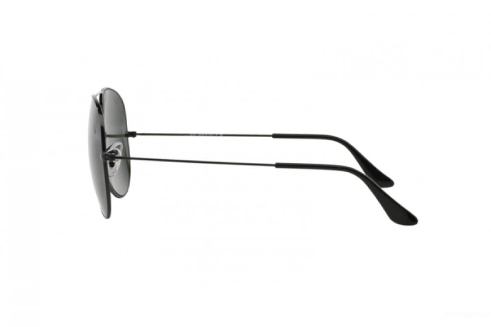 افضل نظارة ريبان شمسية رجاليه - افياتور - اسود - زكي للبصريات