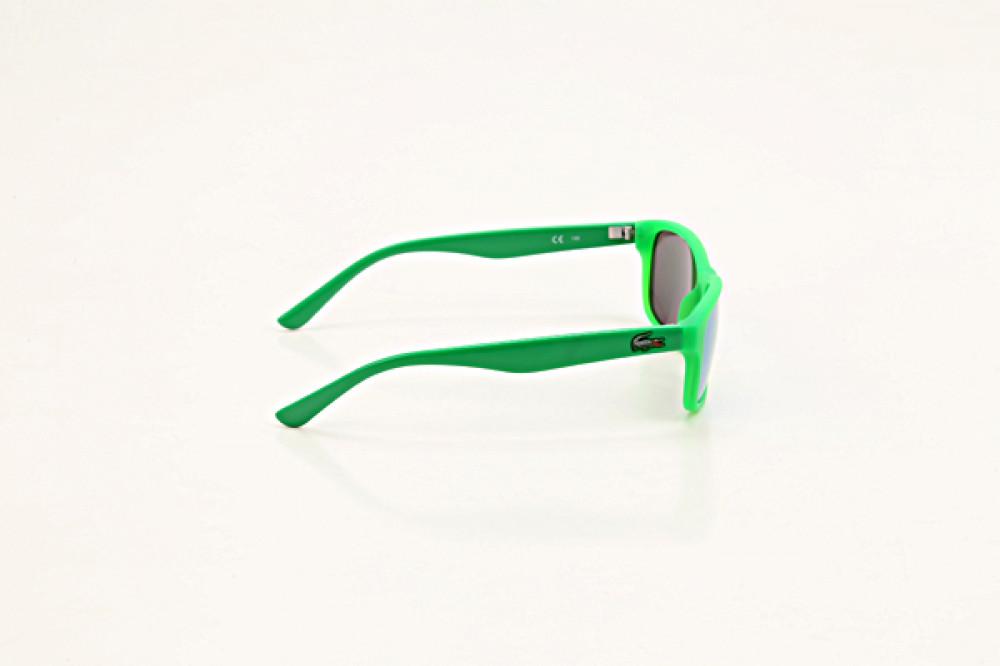 سعر  نظارة لاكوست شمسيه للاطفال - شكل مستطيل - لون أخضر - زكي